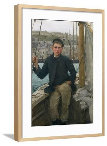 Our Jack, 1886-Henry Scott Tuke-Framed Art Print