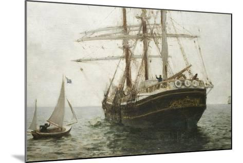 The Missionary Boat, 1894-Henry Scott Tuke-Mounted Giclee Print