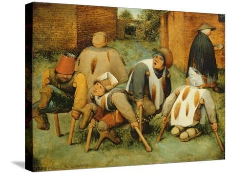 The Beggars, 1568-Pieter Bruegel the Elder-Stretched Canvas Print