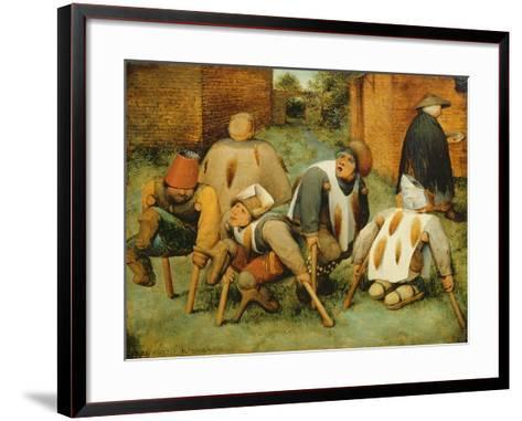 The Beggars, 1568-Pieter Bruegel the Elder-Framed Art Print