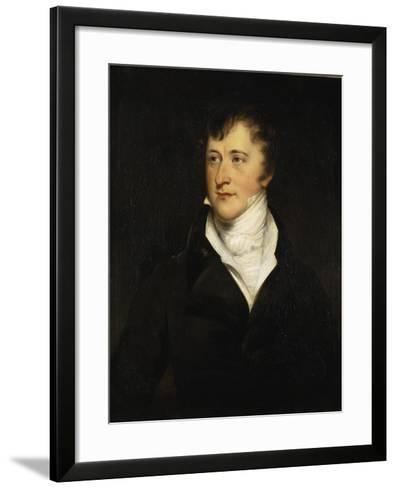Portrait of William Spencer Cavendish, 6th Duke of Devonshire, 1820-29-Thomas Lawrence-Framed Art Print