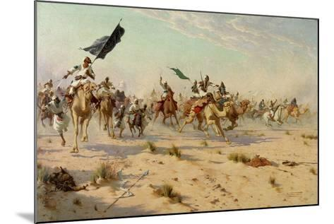 The Flight of the Khalifa at the Battle of Omduran, 1898-Robert George Talbot Kelly-Mounted Giclee Print