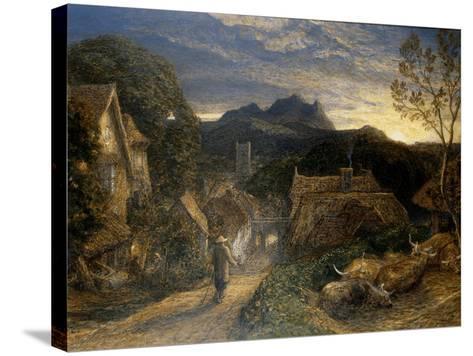 The Bellman-Samuel Palmer-Stretched Canvas Print