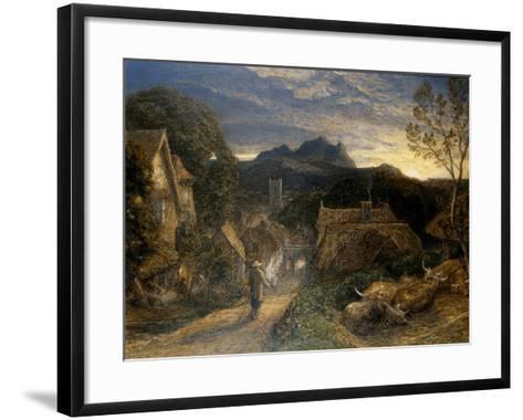 The Bellman-Samuel Palmer-Framed Art Print