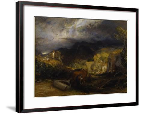Morning-Samuel Palmer-Framed Art Print