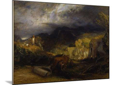 Morning-Samuel Palmer-Mounted Giclee Print