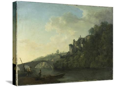 Lismore Castle from the West-William Ashford-Stretched Canvas Print