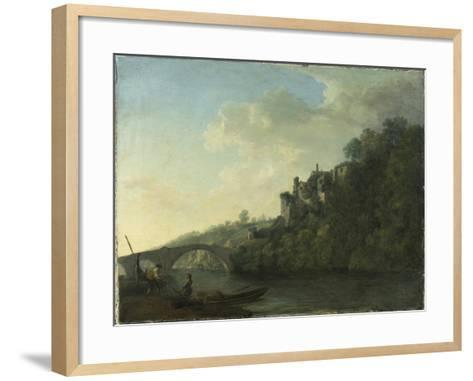 Lismore Castle from the West-William Ashford-Framed Art Print