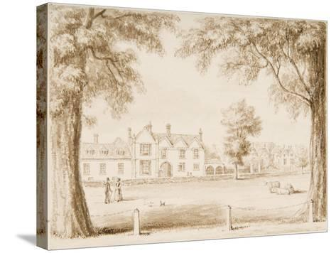 The North Canonry and the Wardrobe, Illustration from 'Hall's Picturesque Memorials of…--Stretched Canvas Print