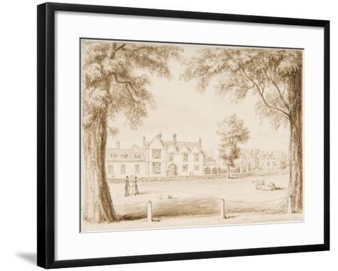 The North Canonry and the Wardrobe, Illustration from 'Hall's Picturesque Memorials of…--Framed Art Print