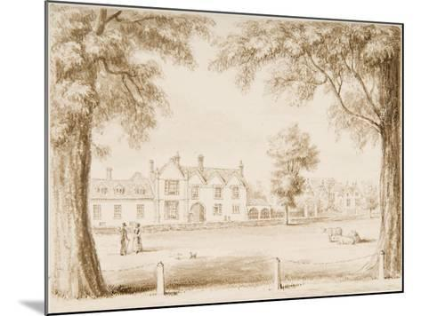 The North Canonry and the Wardrobe, Illustration from 'Hall's Picturesque Memorials of…--Mounted Giclee Print