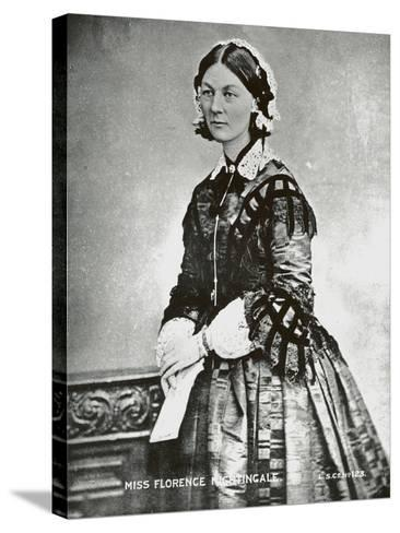 Florence Nightingale, C.1860--Stretched Canvas Print