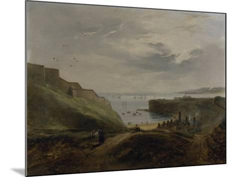 Prior's Haven, Tynemouth - Sunrise, 1845-John Wilson Carmichael-Mounted Giclee Print