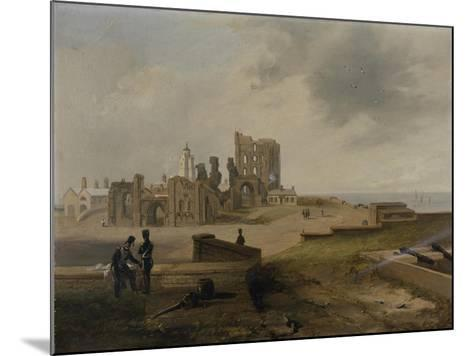 Tynemouth Priory from the East, 1845-John Wilson Carmichael-Mounted Giclee Print