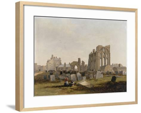 Tynemouth Priory from the East, 1845-John Wilson Carmichael-Framed Art Print