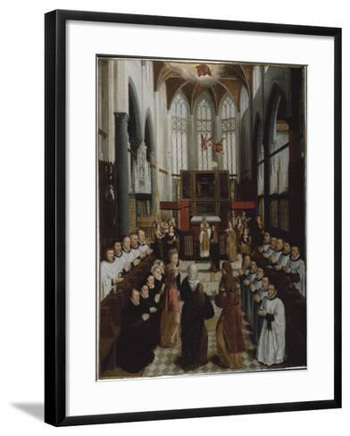 The Presentation of the Virgin in the Temple, C.1530-35-Pieter Claeissens-Framed Art Print