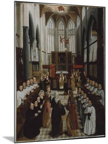The Presentation of the Virgin in the Temple, C.1530-35-Pieter Claeissens-Mounted Giclee Print