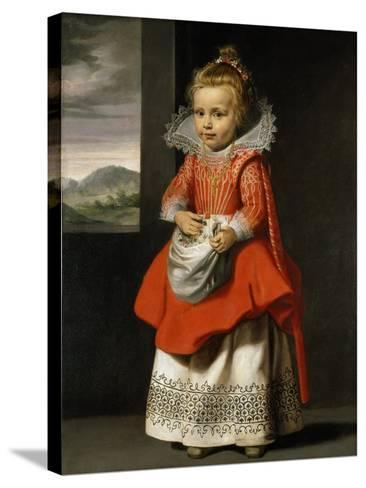 Portrait of the Artist's Daughter, Magdalena De Vos, C.1623-24-Cornelis de Vos-Stretched Canvas Print