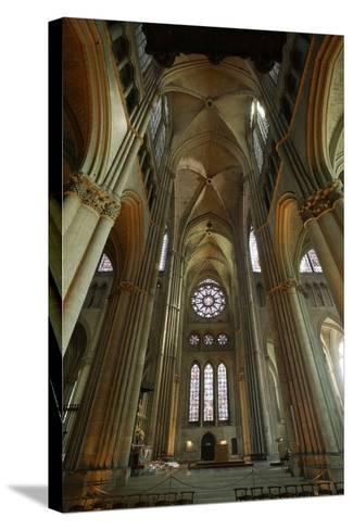 View of the South Transept--Stretched Canvas Print