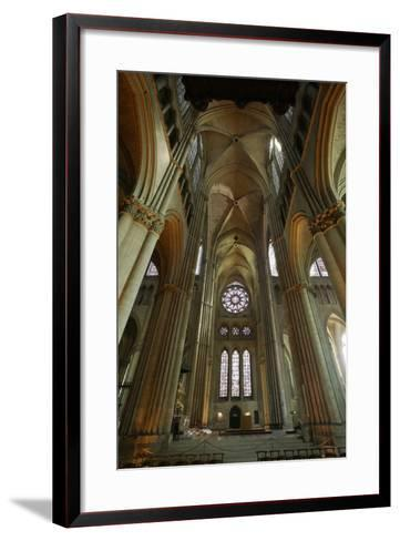 View of the South Transept--Framed Art Print