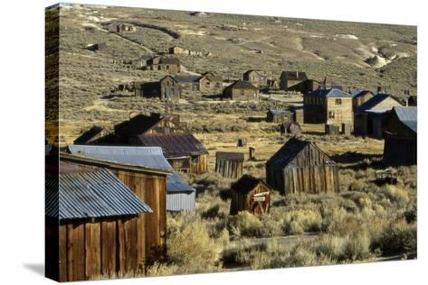 Bodie State Historical Park--Stretched Canvas Print