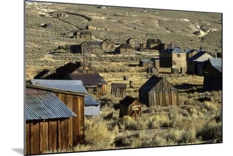Bodie State Historical Park--Mounted Photographic Print