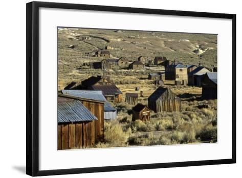 Bodie State Historical Park--Framed Art Print