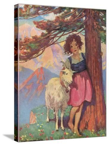 Heidi-Jessie Willcox-Smith-Stretched Canvas Print