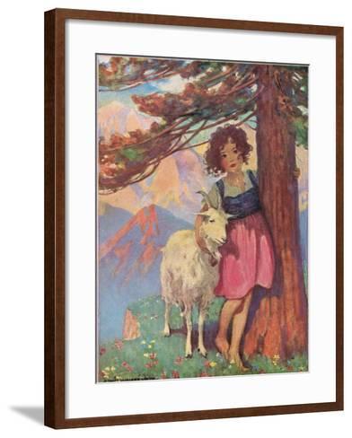Heidi-Jessie Willcox-Smith-Framed Art Print