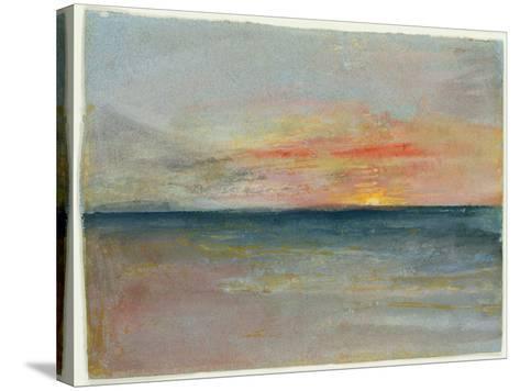 Sky Study-J^ M^ W^ Turner-Stretched Canvas Print
