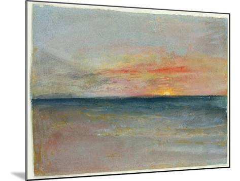 Sky Study-J^ M^ W^ Turner-Mounted Giclee Print