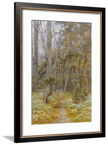 In the Garden-Helen Allingham-Framed Art Print