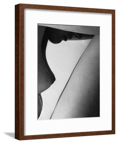Human Form Abstract Body Part--Framed Art Print