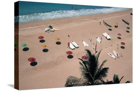 Beach, Bogmalo--Stretched Canvas Print