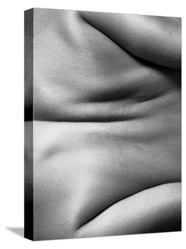 Human Form Abstract Body Part--Stretched Canvas Print
