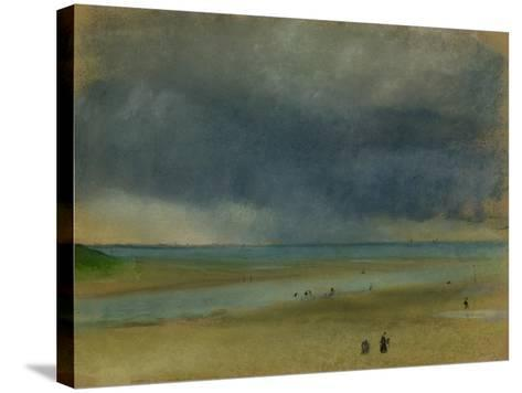 Beside the Sea, 1869-Edgar Degas-Stretched Canvas Print