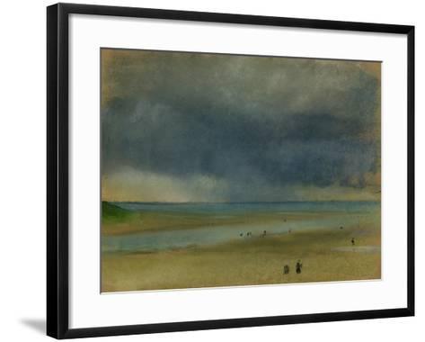 Beside the Sea, 1869-Edgar Degas-Framed Art Print
