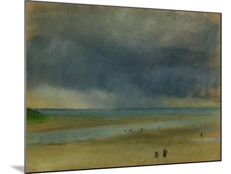Beside the Sea, 1869-Edgar Degas-Mounted Giclee Print