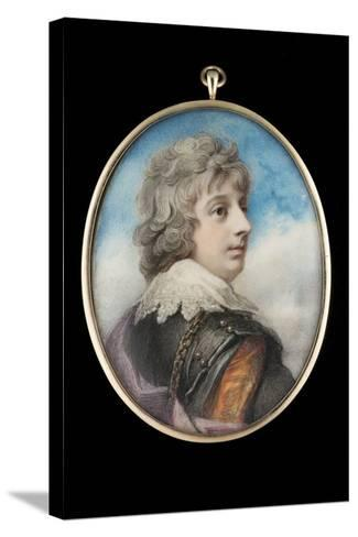 Portrait of William, 3rd Viscount Courtenay-Richard Cosway-Stretched Canvas Print