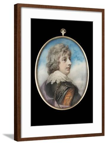 Portrait of William, 3rd Viscount Courtenay-Richard Cosway-Framed Art Print
