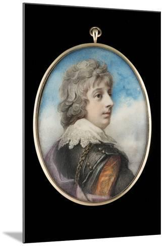 Portrait of William, 3rd Viscount Courtenay-Richard Cosway-Mounted Giclee Print