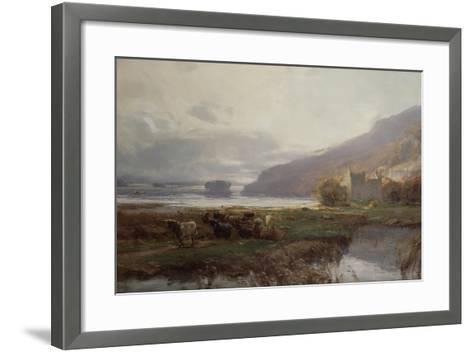 Kilchurn Castle, Lock Awe, 1879-David Farquharson-Framed Art Print