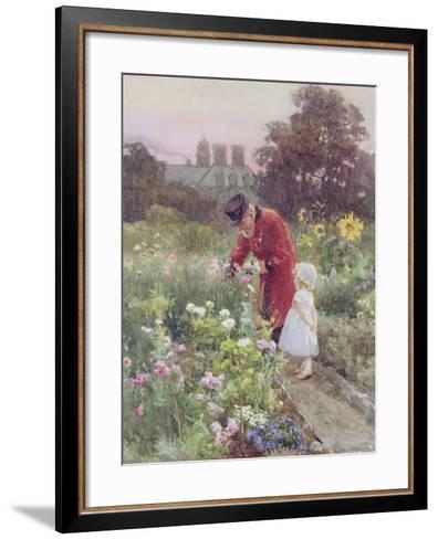 Grandad's Garden-Rose Maynard Barton-Framed Art Print
