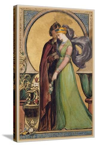 Love Is Strong as Death, 1894-John Jewell Penstone-Stretched Canvas Print