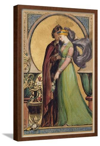 Love Is Strong as Death, 1894-John Jewell Penstone-Framed Art Print