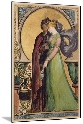 Love Is Strong as Death, 1894-John Jewell Penstone-Mounted Giclee Print