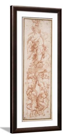 Grotesque Decoration for the Rib of a Vault-Correggio-Framed Art Print