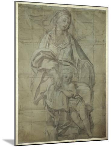Madonna and Child-Domenichino-Mounted Giclee Print