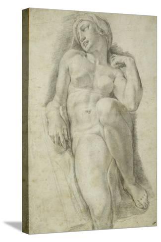 Aurora, after Michelangelo Buonarroti-Francesco De Rossi Salviati Cecchino-Stretched Canvas Print