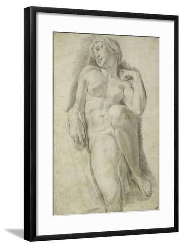Aurora, after Michelangelo Buonarroti-Francesco De Rossi Salviati Cecchino-Framed Art Print